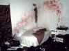 Bloody bedroom in a squatted house Berlin, 1984, © Nan Goldin / Courtesy Matthew Marks Gallery, New York