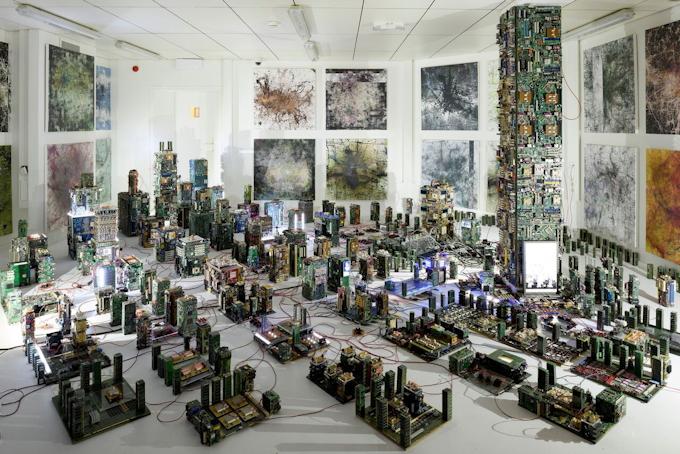 Stanza, Nemesis Machine – From Metropolis to Ecumenopolis