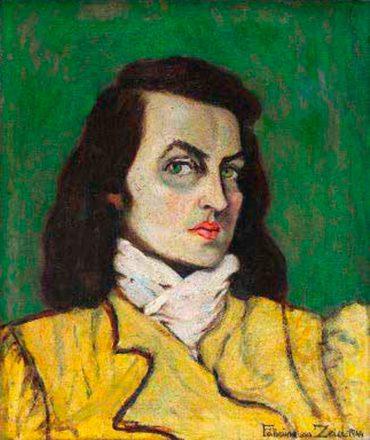 Selbstportrait, 1944   Self-Portrait, 1944